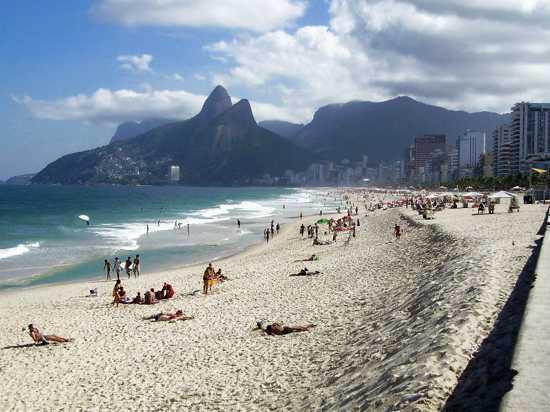 Ipanema Beach Rio de Janero, Brazil