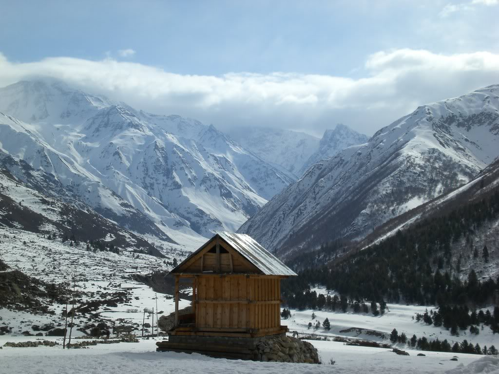 The last hut, Chitkul Village, Himachal Pradesh