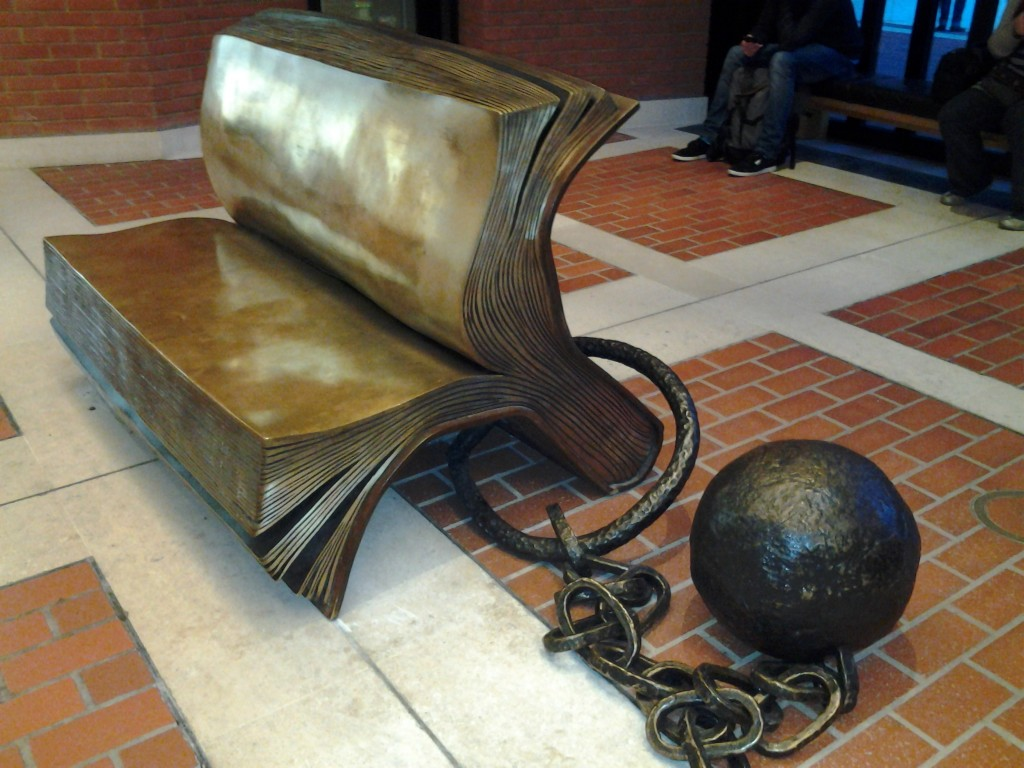 British Library Bench