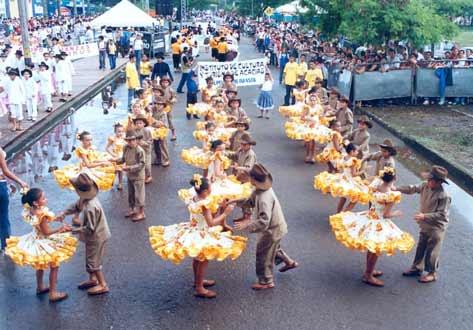 Joropo is a national dance in Venezuela