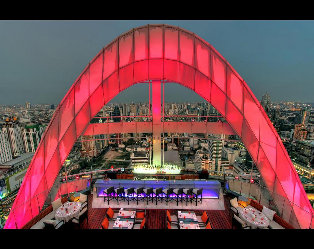 Red Sky, Centaral Grand at Central World bangkok