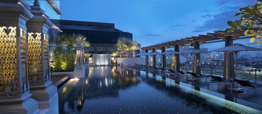 The St. Regis Swimming Pool Bangkok, Thailand