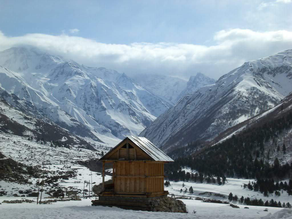 The last hut, Chitkul Village, Himachal Pradesh